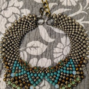 Anthropologie boho collar necklace